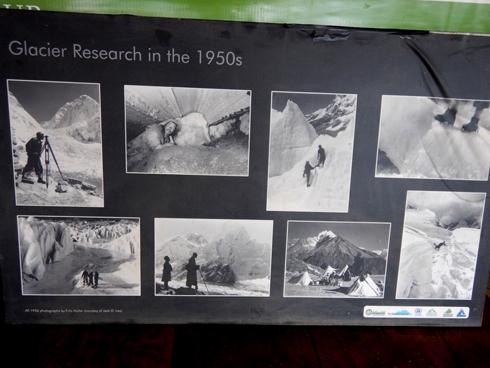 1950年代の氷河研究