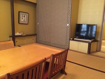 お部屋は和室