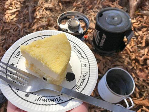 ケーキおいしい♪