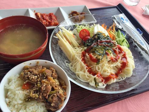 ピビン麺&ミニプルコギ丼