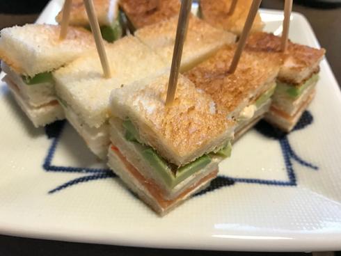 ピンチョスなサンドイッチ