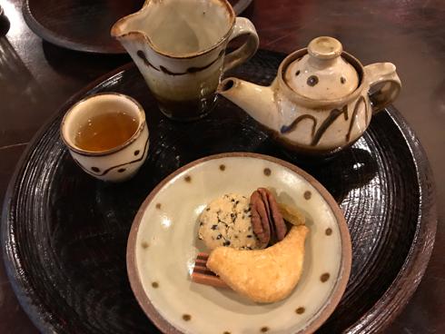 中国茶とお菓子