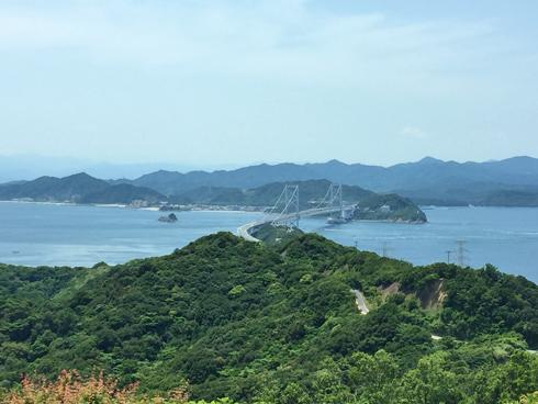 徳島が見える