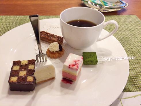 珈琲とお菓子