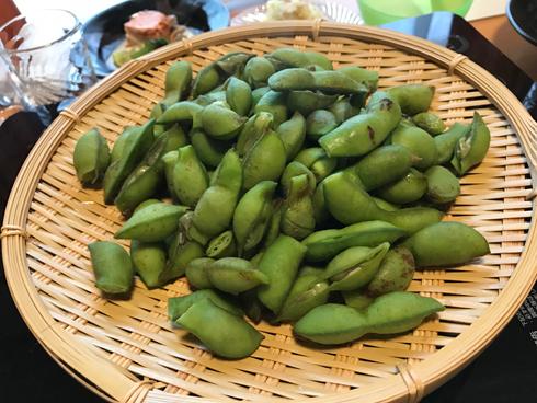篠山の黒枝豆