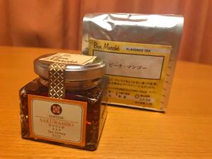 紅茶と蜂蜜のセット