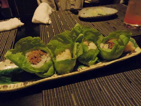 韓国流儀 焼肉サンチュ巻き