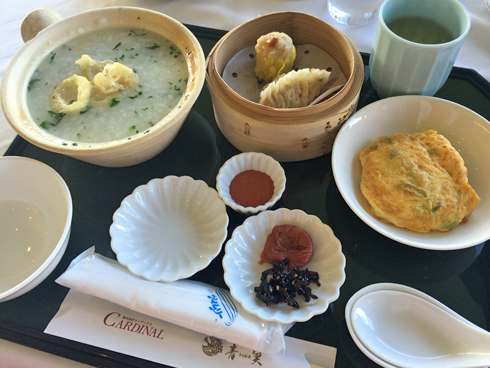 香港朝粥定食